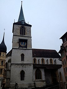 Bienne-Monumenti e luoghi d'interesse-Old town church in Biel