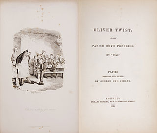 Monthly serial; second novel by Charles Dickens; published 1837–1839