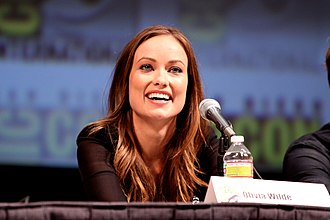 Olivia Wilde - Wilde on the Tron: Legacy panel at the 2010 San Diego Comic Con in San Diego, California.