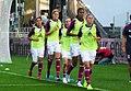 Olympique lyonnais féminines - Entrainement (cropped).JPG