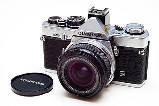 Olympus OM-2 camera model