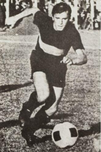 Omar Larrosa - Larrosa playing for Boca Juniors