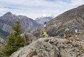 On Chongkor View Point - Annapurna Circuit, Nepal - panoramio.jpg