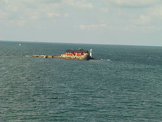 Archipelago of Gothenburg - Böttö, one of the smallest islands.