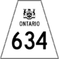 Highway 634 shield