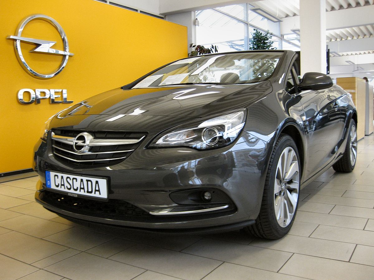 opel cascada wikipedia den frie encyklop di. Black Bedroom Furniture Sets. Home Design Ideas