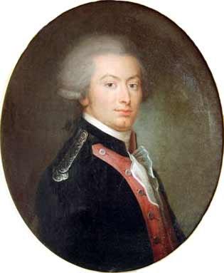 Opie La Fayette 1788
