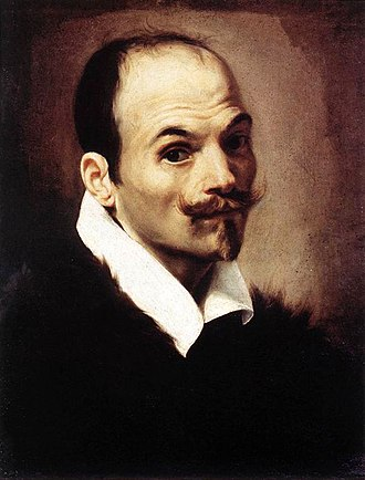 Orazio Borgianni - Orazio Borgianni's Self-Portrait. Oil on canvas, Galleria Nazionale d'Arte Antica, 1615