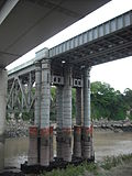 Original pillars, Chepstow Railway Bridge.jpg