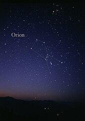 orion constellation wikipedia