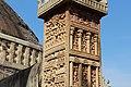 Ornate Pillar of the Sanchi Stupa Gate.jpg