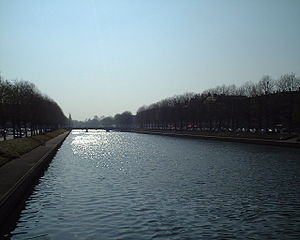 Orne (river) - The Orne in Caen
