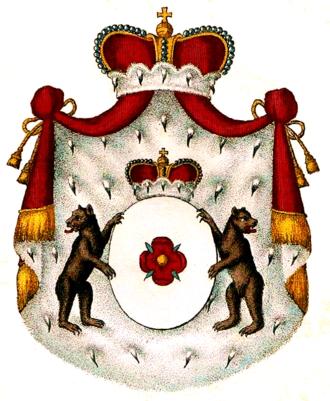 Orsini-Rosenberg - Coat of arms of Orsini-Rosenberg