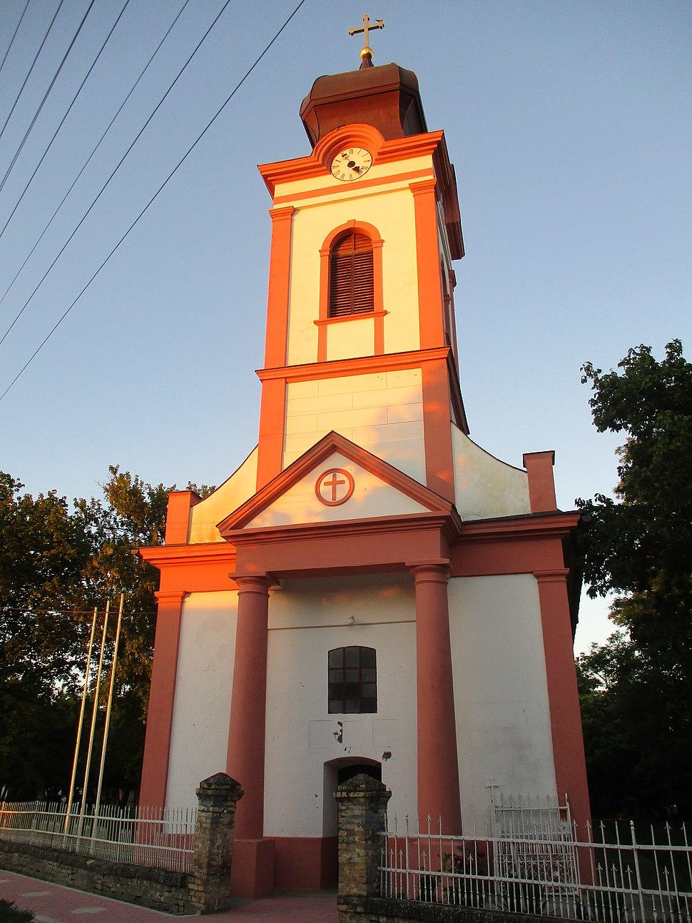 Orthodox church in Srpska Crnja