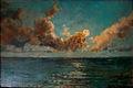 Oscar Pereira da Silva (1865-1939) Luar sobre o mar, óleo sobre madeira, 17,4 x 26,3 cm, Photo Gedley Belchior Braga.jpg