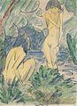 Otto Mueller - Zwei badende Mädchen - ca1925.jpeg