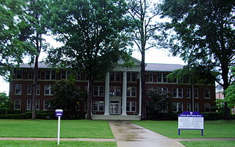 Ouachita Baptist University - Cone-Bottoms Hall, home to the Grant Administration Center, is the oldest building on campus