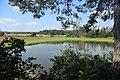 Overview of pond Vrbinec in Pozďatín, Třebíč District.jpg