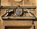Oxford - Brasenose College - coats of arm door.jpg