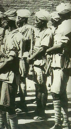 Italian African Police - African members of the PAI (Polizia Africa Italiana) in 1938