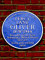PERCY LANE OLIVER 1878-1944 Founder of the First Voluntary Blood Donor Service lived and worked here.jpg