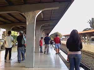 Buendia railway station - Image: PNR Buendia Station 1645