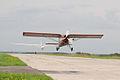 PZL-Okecie PZL-101A Gawron and glider (3693167734).jpg