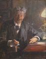 P S Krøyer 1900 - Georg Brandes - Skitse til maleri.jpg