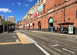 Paddy's Markets light rail station, April 2016 (28145584280).jpg
