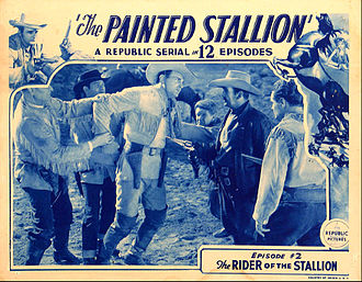 The Painted Stallion - Lobby card for chapter 2