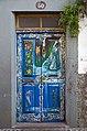 Painted door (Legend). Funchal, Madeira.jpg