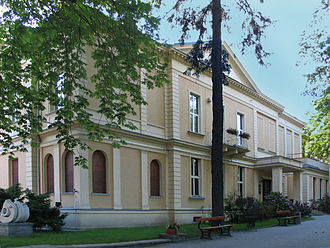National Film School in Łódź - Image: Palac Oskara Kona Lodz