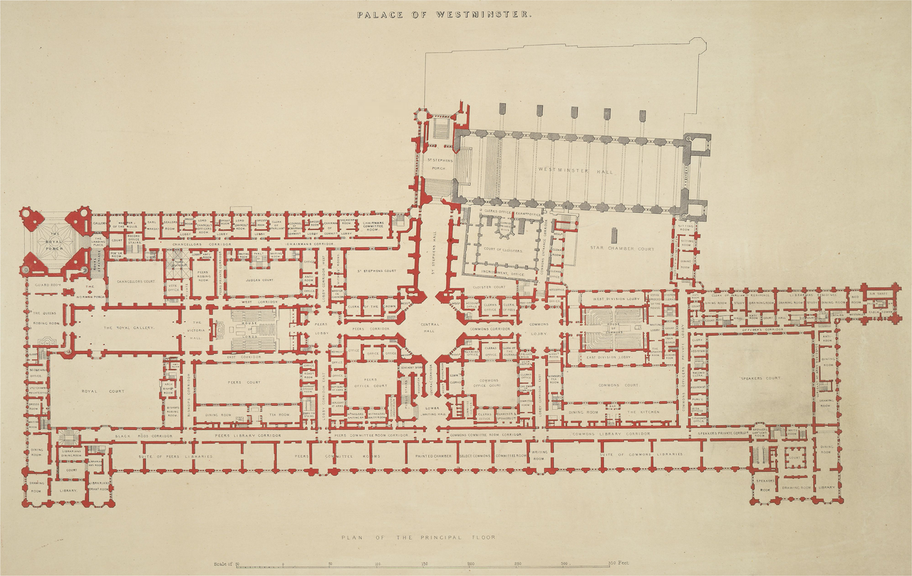File palace of westminster plan f crace high resolution for Palace plan
