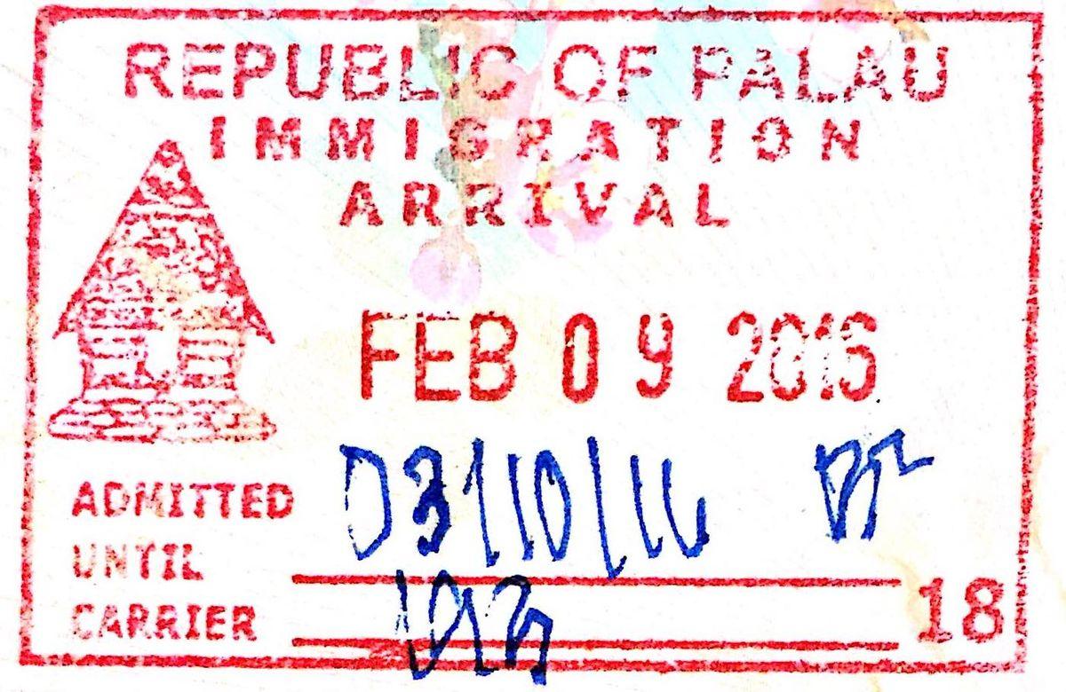Visa Policy Of Palau Wikipedia