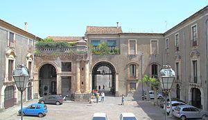 Palazzo Biscari - Inner courtyard
