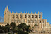 Palma de Mallorca cathedral view from west.JPG
