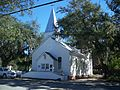 Panama City FL old St Andrews ME Church02.jpg