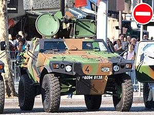 Panhard VBL (Vèhicule Blindé Legér), French army licence registration '6094 0138' pic1.JPG