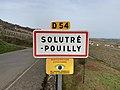 Panneau Entrée Solutré Pouilly Route Roche - Solutré-Pouilly (FR71) - 2021-03-02 - 2.jpg