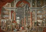 Pannini, Giovanni Paolo - Picture Gallery with Views of Modern Rome - 1757.jpg