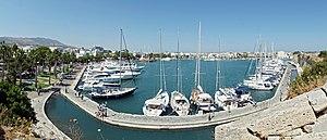 Kos - The harbour of Kos town