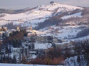 Pietralunga - Image: Panorama Neve