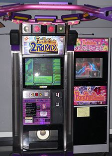 ParaParaParadise 2nd Mix Arcade Game