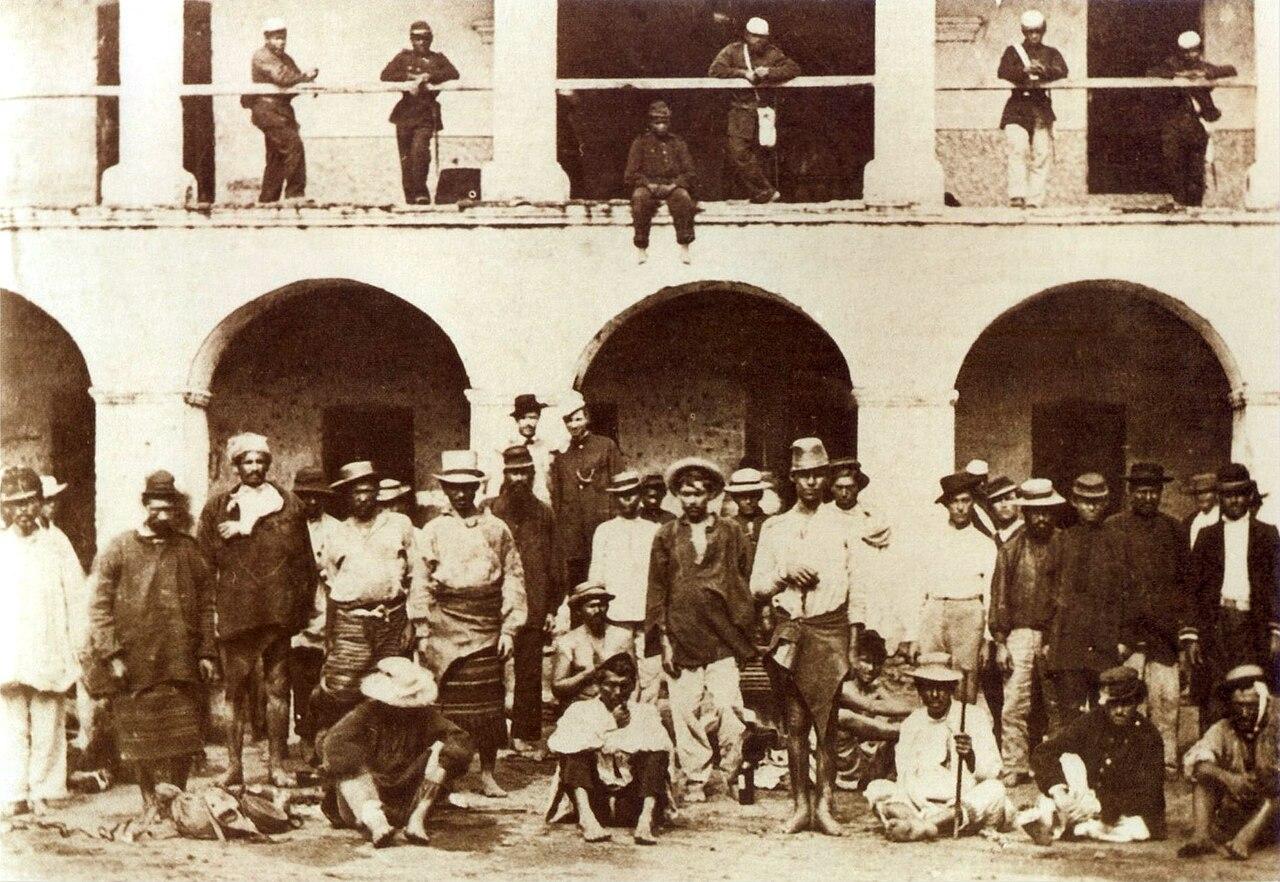 Prisioneros paraguayos en la Guerra de la Triple Alianza