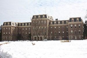 1949 Sun Bowl controversy - Pardee Hall, Lafayette College