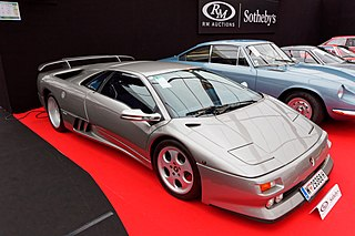 V12 flagship sports car manufactured by Italian automobile manufacturer Lamborghini as a successor to the Countach