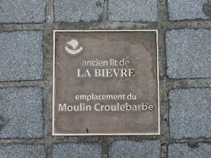 Fichier:Paris 13e - Croulebarbe - plaque emplacement ancien moulin.JPG