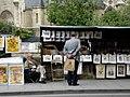 Paris 75005 Quai de Montebello Bouquiniste 20080711.jpg