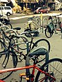 Parked bikes outside Golden Park, SF.jpg