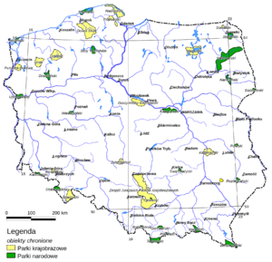 Ochrona Przyrody W Polsce Wikipedia Wolna Encyklopedia
